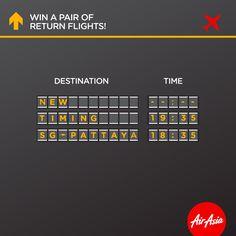AirAsia Pattaya Return Flights Singapore Contest ends 15 Jul 2016 | Why Not Deals