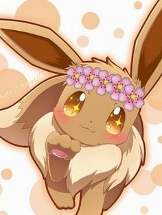 Aww this Eevee is adorable