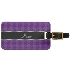 >>>The best place          	Personalized name purple houndstooth pattern tag for luggage           	Personalized name purple houndstooth pattern tag for luggage today price drop and special promotion. Get The best buyDeals          	Personalized name purple houndstooth pattern tag for luggage ...Cleck Hot Deals >>> http://www.zazzle.com/personalized_name_purple_houndstooth_pattern_luggage_tag-256755985706170151?rf=238627982471231924&zbar=1&tc=terrest