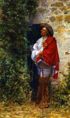 Giuseppe de Nittis - A cavalier at the gate