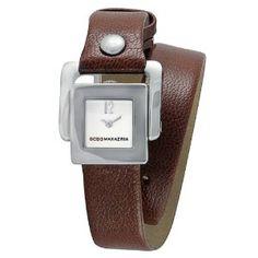 BCBGMAXAZRIA Women's BG6292 Eclectic Analog Silver Dial Watch   95$