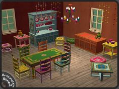 Around the Sims 2 | Objects | Dining-room | Gypsy