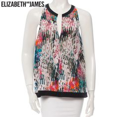 Elizabeth and James Silk Blouse Elizabeth and James Silk Blouse - Size Medium. NWOT. Never been worn and in perfect condition. Looks adorable under a black blazer for cooler weather or by itself! Fabric is 100% Silk.NO TRADES Elizabeth and James Tops Tank Tops