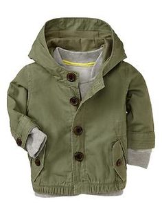2-in-1 canvas parka | Gap
