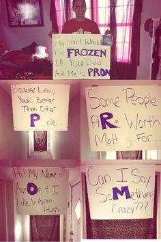Frozen Promposal💙I would say yes lol💙 Cute Homecoming Proposals, Hoco Proposals, Homecoming Asking Ideas, High School Dance, School Dances, Cute Relationship Goals, Cute Relationships, Invitation Au Bal, Cute Promposals