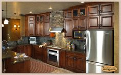 Amazing Interior Design and Rustic Decor Above Kitchen Cabinets rustic kitchen decorating designs ideas house design ideas gallery images pictures 2016 Hickory Kitchen Cabinets, Alder Cabinets, Shaker Kitchen Cabinets, Wall Cabinets, Rustic Cabinets, Kitchen Redo, Kitchen Remodel, Kitchen Ideas, Maple Kitchen