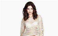 Download wallpapers Andreea Diaconu, 4k, Romanian fashion model, beautiful woman, popular models
