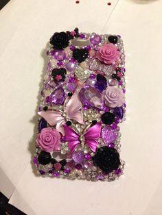 Bling cell phone case