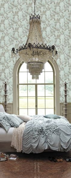 Stunning bedroom .... ♥♥ ....