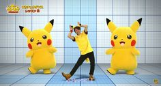 Intense 5 Minute Pikachu Dance Lesson for the 2015 Pikachu Outbreak! Event in Yokohama, Japan