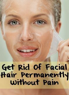Forget about facial hair and the painful methods to remove it. Learn how to prepare at home a remedy that will help you to remove facial hair without pain!