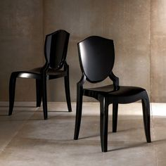 In clear - waiting for specs from manufaturer: Homelegance Polycarbonate Side Chair - Set of 2 - Dining Chairs at Hayneedle