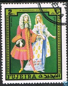 Postage Stamps - Fujeira - Dress 5th t / m 18th century