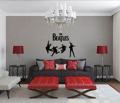 Beatles red room