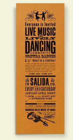 Barn Dance invitiation
