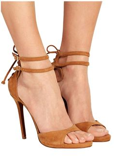 Kevin Fashion KLSDN207 Women's Lace-up Tie Suede Club Party Evening Sandals *** Check this awesome product by going to the link at the image. #womensandals