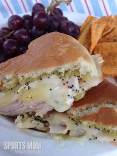 Make-ahead Hot Hom or Turkey & Cheese. Perfect on-the-go meal. Quick freezer meal