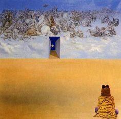 Battle in the Clouds - Salvador Dali (1979)