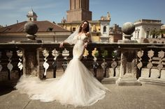 Ivory fit and flare wedding dress by Julie Vino wedding dresses 2017   I take you #weddingdress #weddinggown