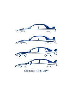 Silhouette history Subaru