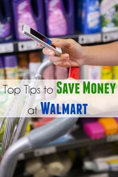 Top Tips to Save Money at Walmart - Moments With Mandi