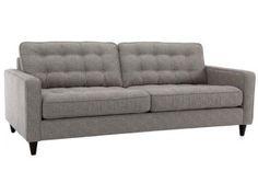 Decor-rest Fabric condo sofa 7372 | UrbanCabin