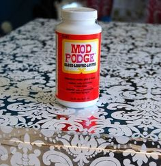 Why you should NOT make homemade Mod Podge for important craft projects.