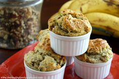 Vegan Banana Walnut Muffins - Vegan, Dairy-Free, Egg-Free   The Healthy Family and Home