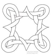 Celtic Knot Template 12