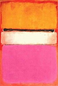 rothko His paintings look simple, but they are actually very complex. To achieve the colors he did in such a vast are of space is true artistry.
