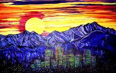 It's a ColoRADICAL Painting | WOW | #Colorado #Denver