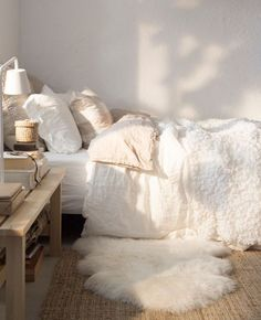 soft cozy bed