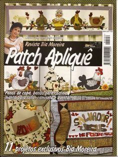 Foto: PATCH APLIQUE -GALLINAS