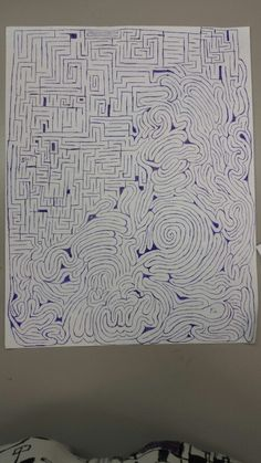 Hand drawn, try it there is an easy path and a hard one