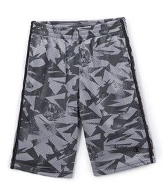 Look what I found on  zulily! Concrete Geometric Mesh Shorts - Boys   zulilyfinds 8eb603cf1106c