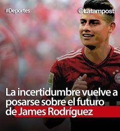 Tras un polémico paso por Real Madrid y algunas incidencias en el Bayern Munich, el colombiano vuelve a rodearse de dudas sobre un próximo cambio de club.  #realmadrid #jamesrodriguez #bayernmunich #club #futbol #deporte