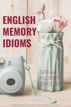 English Idioms about Memory with meanings and examples. Fluent English, English Idioms, English Lessons, English Grammar, Advanced English Vocabulary, English Vocabulary Words, English Study, Learn English, Make A Presentation