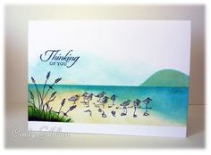 Sandpiper Shore by frenziedstamper - Cards and Paper Crafts at Splitcoaststampers