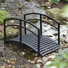 Double Arched Rails Garden Bridge - 4 ft. Belham Living http://www.amazon.com/dp/B01D5Y0GBU/ref=cm_sw_r_pi_dp_3v0pxb0NBGW13