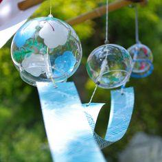 Japanese glass windchimes. Wants!