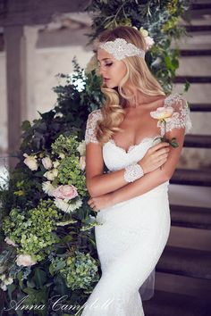 Bridal Gown Collection by Anna Campbell - Forever Intwined | See More: http://www.thebridaldetective.com