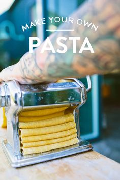 """we think pasta is the quintessential comfort food. look up """"comfort food"""" on wikipedia, and..."""