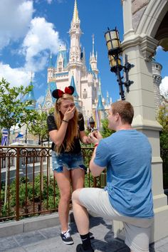 Top Ten Places to Propose at Disney