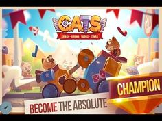 CATS Crash Arena Turbo Stars Gameplay latest android games 2017 CATS Crash Arena Turbo Stars Gameplay latest android games 2017  From the creators of the hit games Cut the Rope and King of Thieves comes the most ingenious and stylish battle bot constructor! Build a war machine from collected parts and unleash its power against other players in automatic PvP combat! Fight your way up from backyards to the World Championship. Win new parts and use them to design an unbeatable fighting robot…