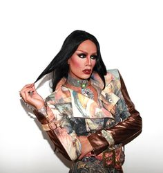 Raja Gemini // i'd kill for half of her style Baby Queen, I Am A Queen, Raja Gemini, Rupaul Drag Queen, Tv Icon, Queen Fashion, Club Kids, My Girl, Beautiful Women
