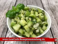 Gurkensalat Low Carb