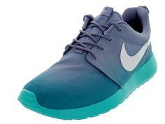 43dd42a0d44b Nike Women s Roshe One Print Lt Retro White Artisan Teal Running Shoe 8  Women