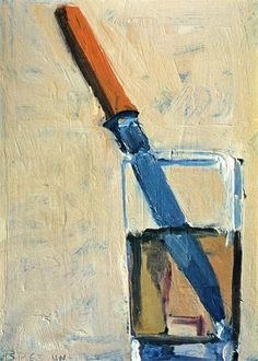 Richard Diebenkorn Knife and Glass