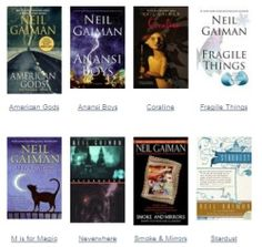 #NeilGaiman's #books -- Reading his books transports me to another world!