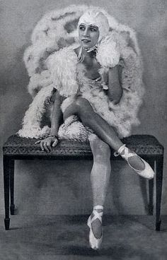 Germaine Mitty, French actress, singer and dancer, performed in the Ziegfeld Follies of 1921 and 1924